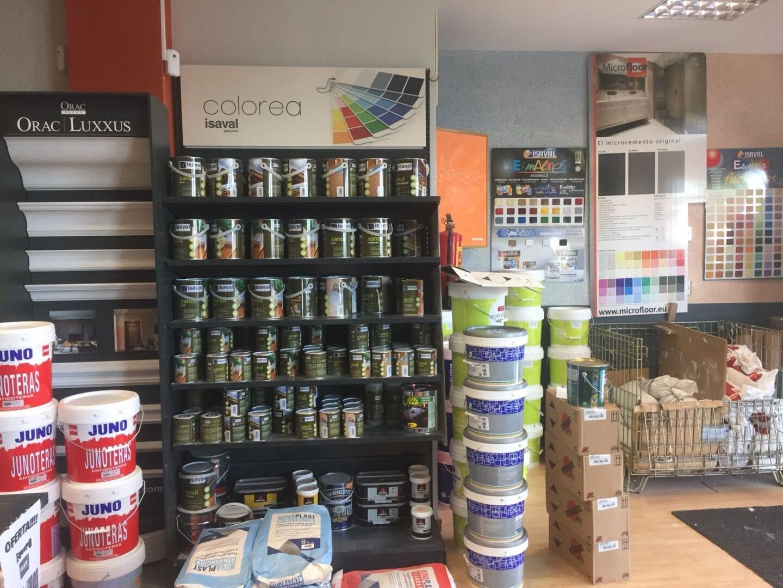 productos pintura tienda de hortaleza