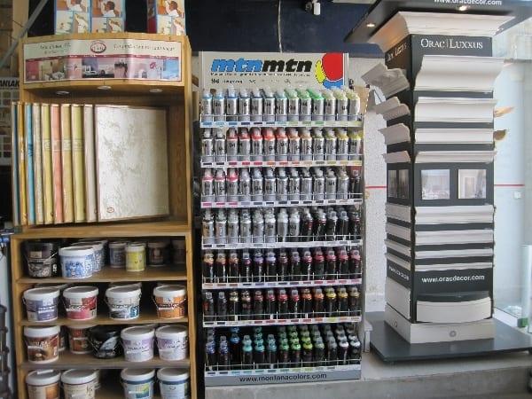 sprays tienda pintura