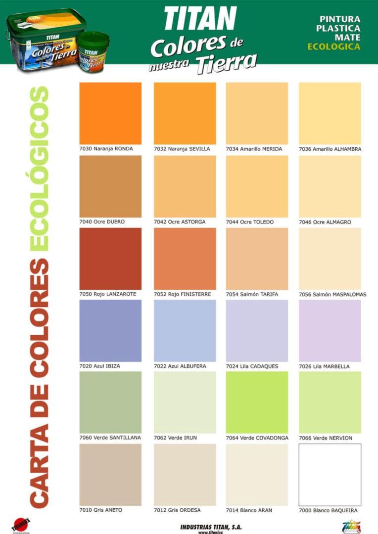 Cartas de color la casa del pintor de madrid cartas cromaticas ral ncs - Catalogo pinturas bruguer ...