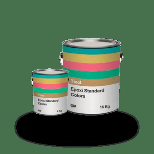 Tixol epoxi 3d carta de colores ral todos los colores