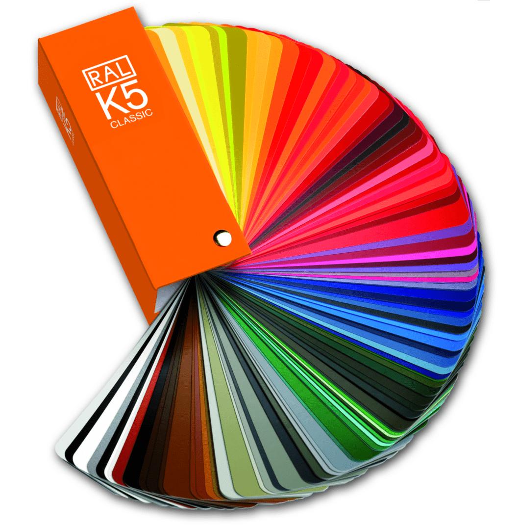 Carta de colores 3d